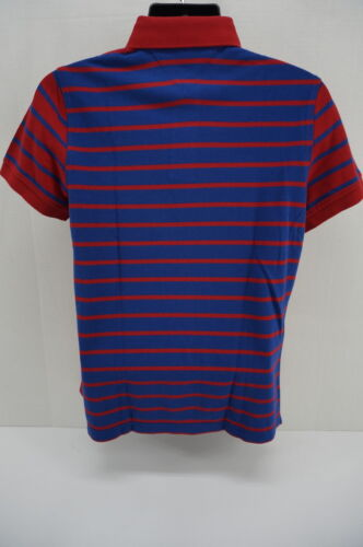 Tommy Hilfiger Man Fashion Polo Tee shirts Red Stripe C887891741611 Brand New