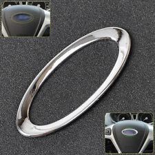 Steering Wheel Logo Cover Trim For Ford Focus Fiesta Mondeo Ecosport Kuga Escape