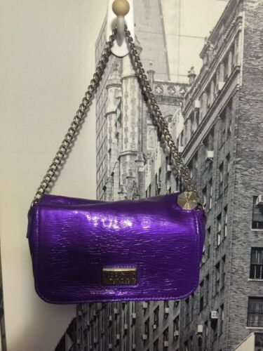 Purple Italy500 Versace Leather Chain Logo Versus Purse Flap Patent Handle uOZiPXTk