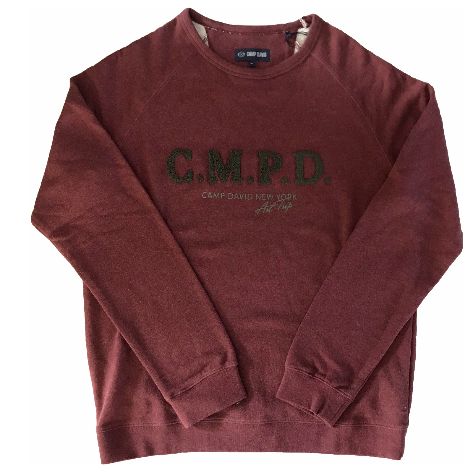 Camp David Herren Sweatshirt Pullover Power Essential langarm Rundhals M - XXXL