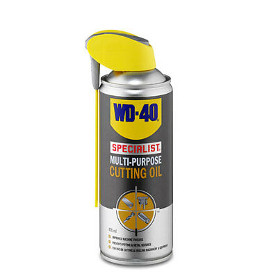 WD-40 44110 Specialist Multi Purpose Cutting Oil 400ml Smart Straw Lubricant