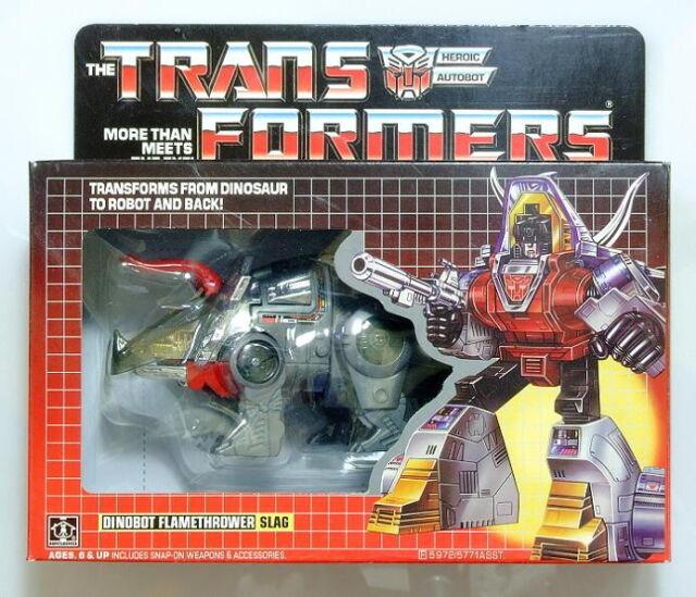 Transformers G1 slag dinobot reissue brand new action figure Gift