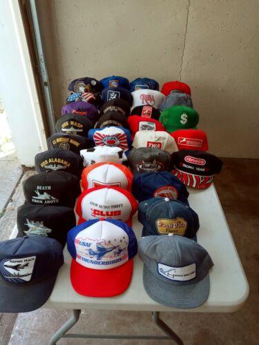 Vintage Cap Lot Trucker Cap