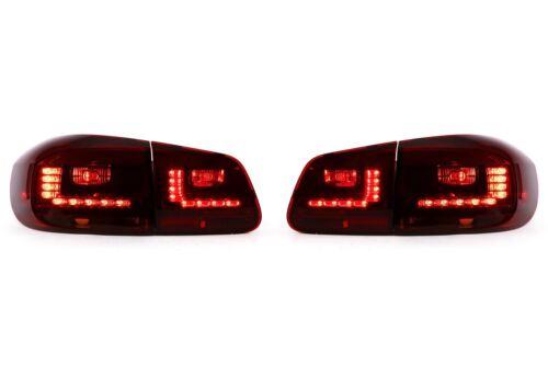 VW Tiguan 11-15 LED Rear Outer Lights Lamps Pair Set Driver Passenger Upgrade