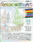 Relax with Art Magazine Diary 2016 Colouring Therapeutic Designs for Adults