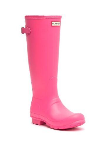 Hunter Original Waterproof Tall Rain Women Boots NEW Size US 8 10