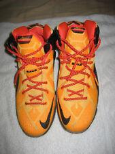 new concept 69659 9569e item 5 Nike LeBron 12 XII Witness Laser Sz 6Y Youth Orange Black GS 685181-830  -Nike LeBron 12 XII Witness Laser Sz 6Y Youth Orange Black GS 685181-830