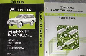 image is loading 1996-toyota-land-cruiser-service-shop-repair-workshop-
