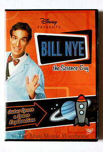 Disney-Bill-Nye-The-Science-Guy-Outer-Space-amp-Space-Exploration-Educational-DVD