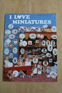 I-LOVE-MINIATURES-By-Dale-Burdett-30-Cross-Stitch-Patterns-DB-113