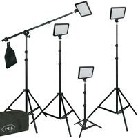 Triopo 816 Led Photo Video Boom Light Kit Rechargable Battery And Charger