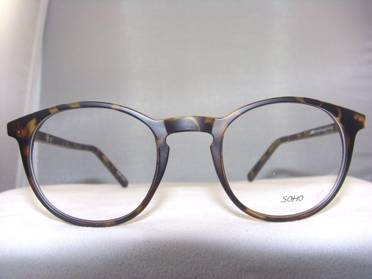 e919fed5113f3 New Soho 123 Matt Tortoise Eyeglass Frame Ebay