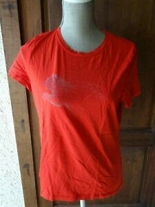 t-shirt-rouge-Puma-taille-44