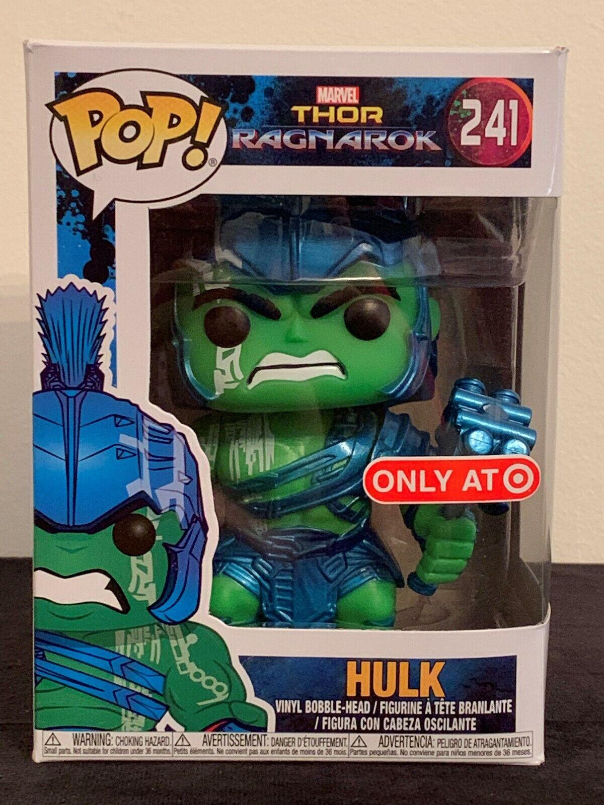 Ragnarök Gladiator Hulk 241# Vinyl Action Figure Collection Toy Funko Pop Thor