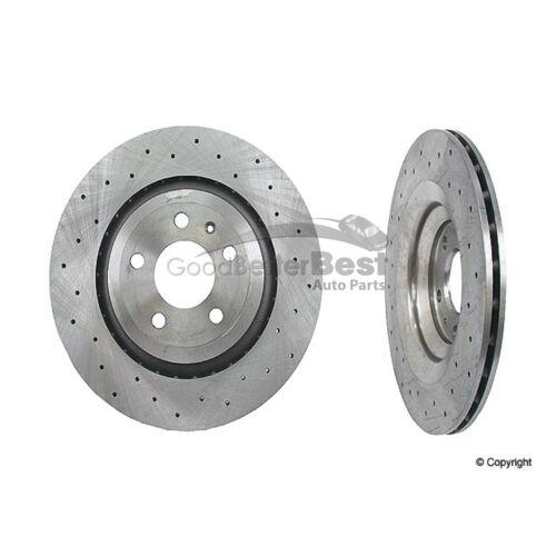 One New Zimmermann Sport Disc Brake Rotor Rear 100332150 4F0615601FSP Audi