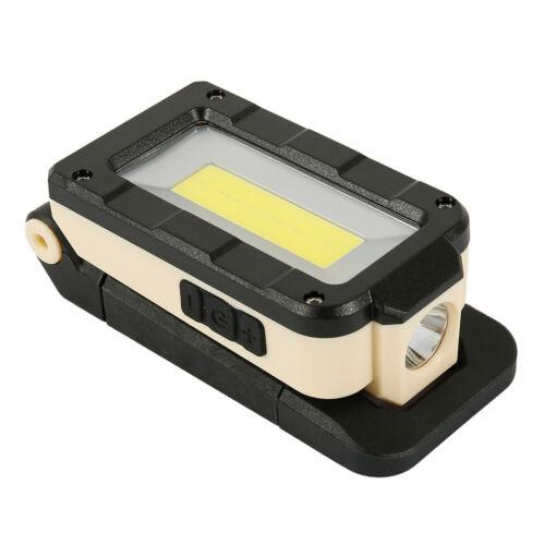 Rechargeable USB Garage Inspection Lumière DEL Lampe de Travail Torche atelier magnétique