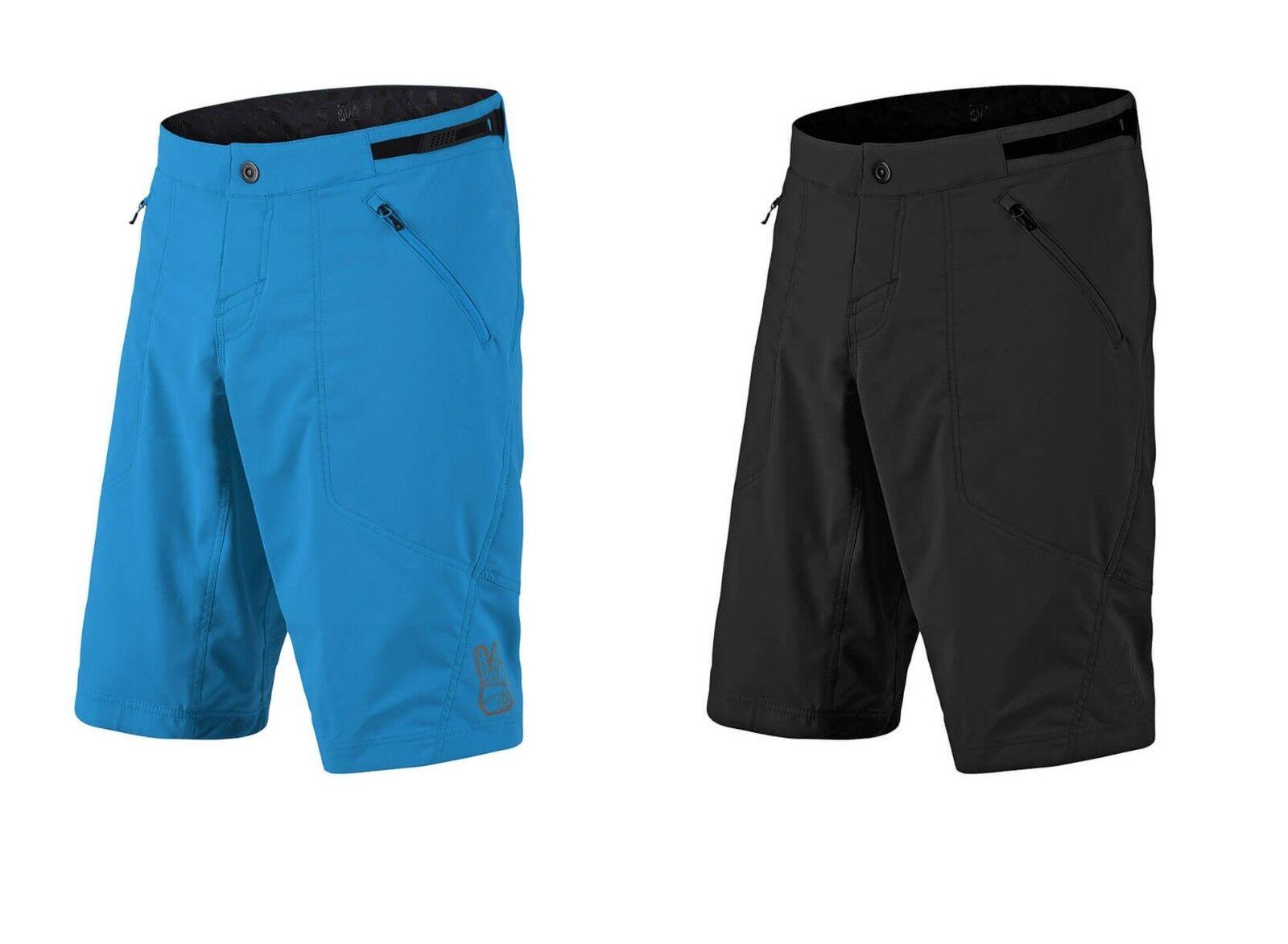 Troy Lee Designs Black Skyline BMX//Mountain Bike Shorts Youth//Junior Sizes