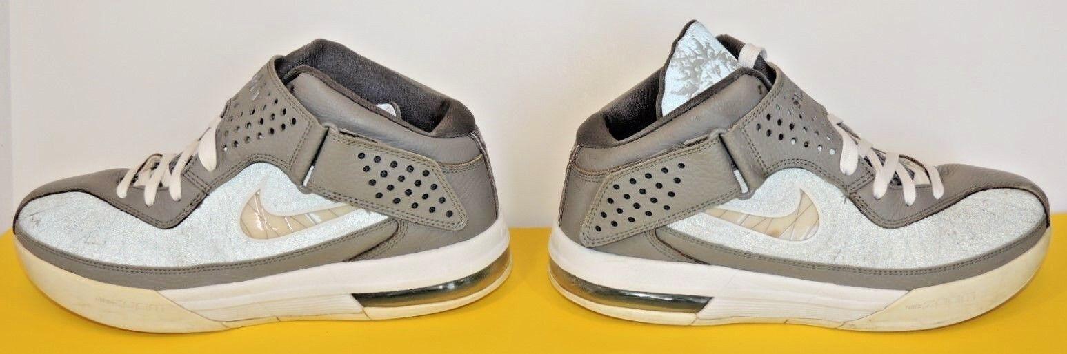 Nike Lebron James LBJ Zoom Air 8 Shoe Sneaker Solider V 5 Grey Basketball King Brand discount