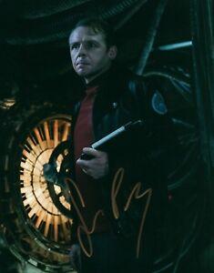 Simon-Pegg-Star-Trek-Hand-Signed-8x10-Photo-Autographed-W-COA