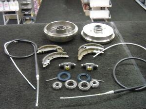 Vw-Caddy-Mk1-Tambor-De-Freno-Cable-De-Freno-Rueda-Con-Freno-Zapatos