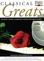 Classical Greats Sheet Music Reader's Digest Piano Library Book 2-cd P 014026959