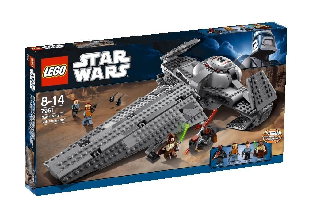 LEGO Star Wars Darth Maul's Sith Infiltrator (7961)