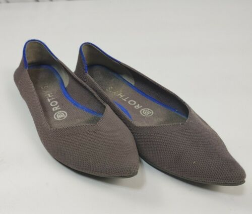 ROTHY'S Women's Sz 8 The Point Ballet Flats Retire