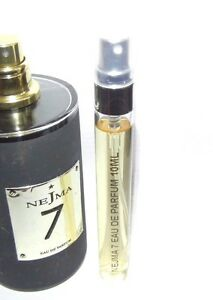 Nejma-7-Eau-de-Parfum-10ml-Glass-Atomizer-Travel-Spray-Rare-Obsolete-EDP