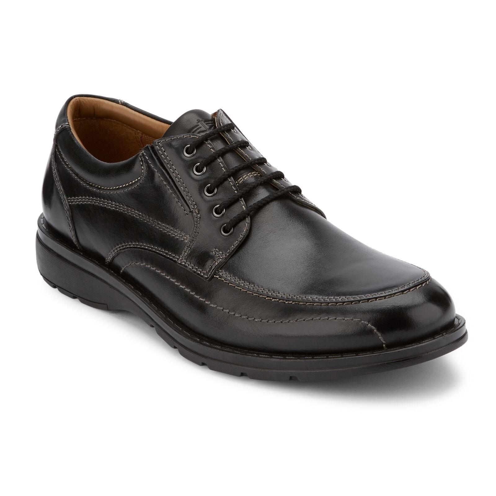 Dockers – Barker – Robe en cuir véritable pour hommes – Chaussures Oxford confortables à lacets