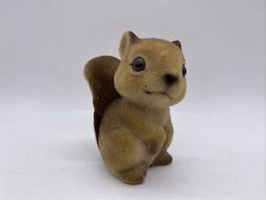 VTG MCM Parma by AAI Squirrel Velvet Ceramic Figure