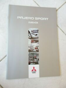 Mitsubishi-Pajero-Deporte-Zubehor-2003-Sales-Folleto-Catalogo-Comercial-Sales