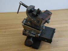 Vintage Milling Machine Table Vise 3 Axis 3 Toolmaker Metal Worker Drill Press