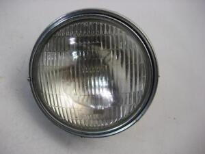 1970-039-s-Honda-CB750-Headlight-Bucket-Black-W-Trim-Ring-HM-20M-Used-WHL-25