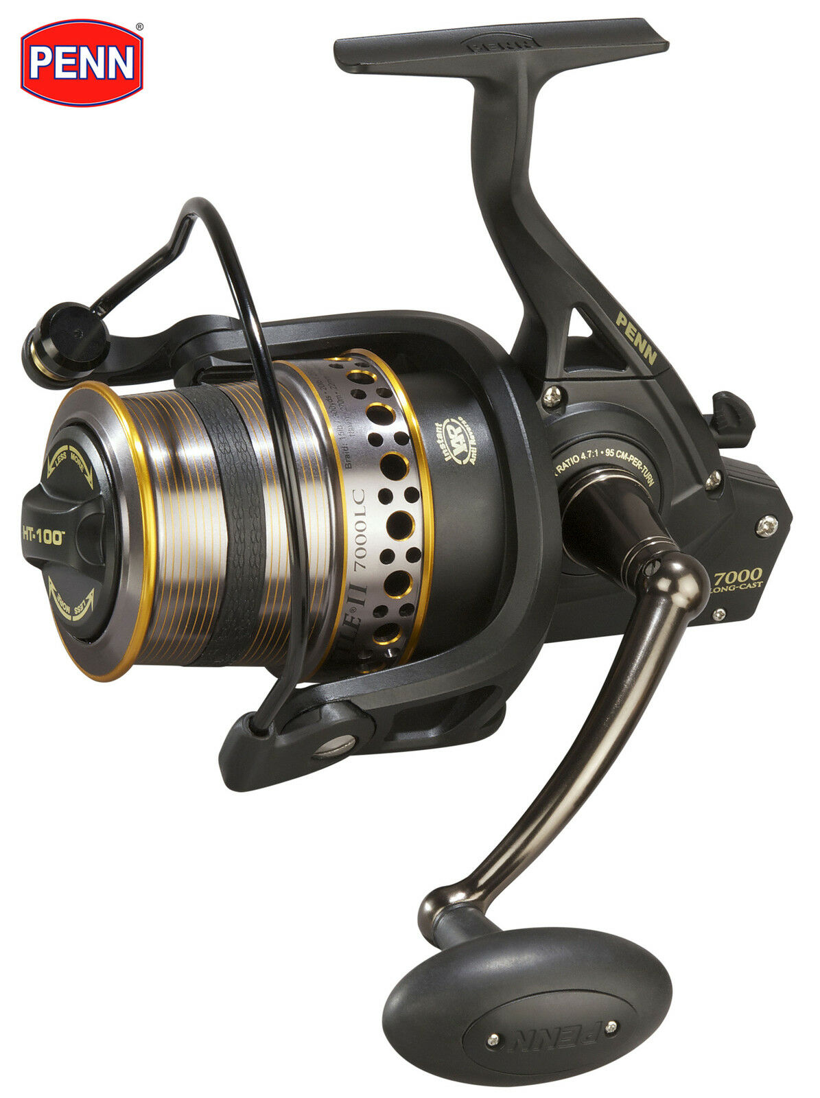 New PENN Battle II 7000 Long Cast Fishing Reel Model BTL7000LCEU No. BTL7000LCEU Model 8d2c15