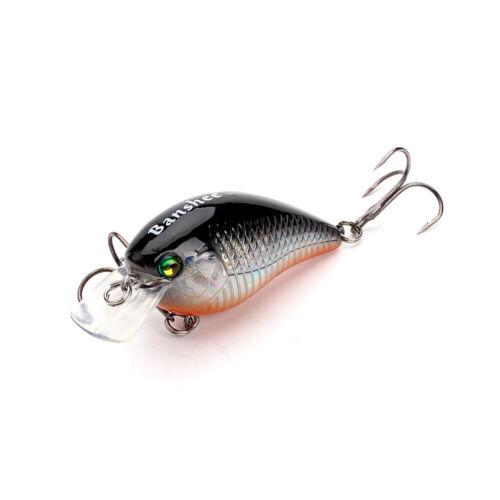 Fishing Lure Floating Bait Square Bill Artificial Medium Diving Crankbaits 0.4oz