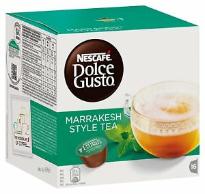 Estuche Caja Pack Dolce Gusto Te Marrakesh 16 capsulas