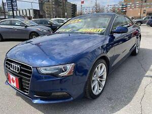 2013 Audi A5 QUATTRO TECHNIK AWD BLUETOOTH NAVI CAMERA LOADED....LOW KMS.