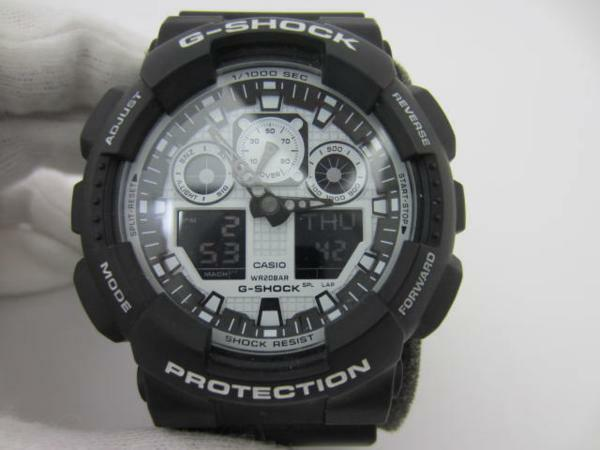9702e392c45f Casio G-shock White and Black Series Mens Watch Ga-100bw-1a From ...