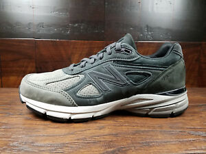 new styles a1cd6 31f0f Details about New Balance M990FEG4 Premium Nubuck -FINAL EDITION- 990v4  (Grey / Black) USA