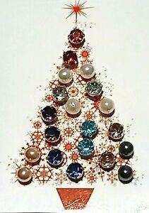 Avon Christmas Tree Earring Set 10 Pairs New