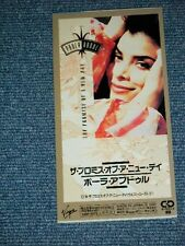 """PAULA ABDUL Japan Only 1991 Tall 3"""" CD Single THE PROMISE OF A NEW DAY"""