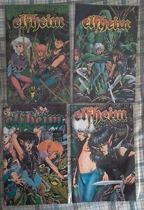 Elfheim #1 - 4 Complete Series - Night Wynd 1991 - Barry Blair
