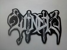 WINDIR,SEW ON WHITE EMBROIDERED LARGE BACK PATCH