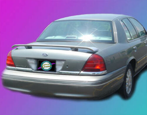 PAINTED FORD CROWN VICTORIA CUSTOM STYLE SPOILER 1998-2011