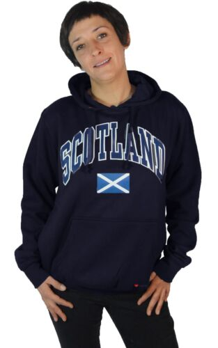 Saltire Blue Harvard Large Hoodie Lettering Womens Scotland Flag Navy SIOZqqfxw
