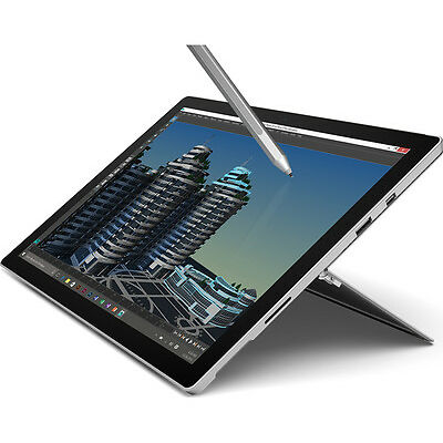 MICROSOFT Surface Pro 4 512GB SSD Windows 10 Intel Core i7-6650U Silver