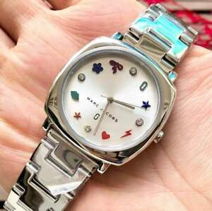 Marc-Jacobs-Mandy-Silver-tone-Multi-color-Dial-Watch
