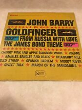 John Barry James Bond 007 Goldfinger From Russia With Love Hard To Find Album