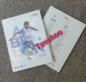 Brighton-v-Liverpool-CHAMPIONS-VERY-LIMITED-Programme-8-7-20-IMMEDIATE-DISPATCH