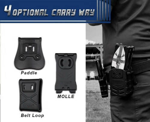 CYTAC Rifle Magazine Pouch w// Belt ClipQuick Draw AmbidextrousCY-MP-RB3